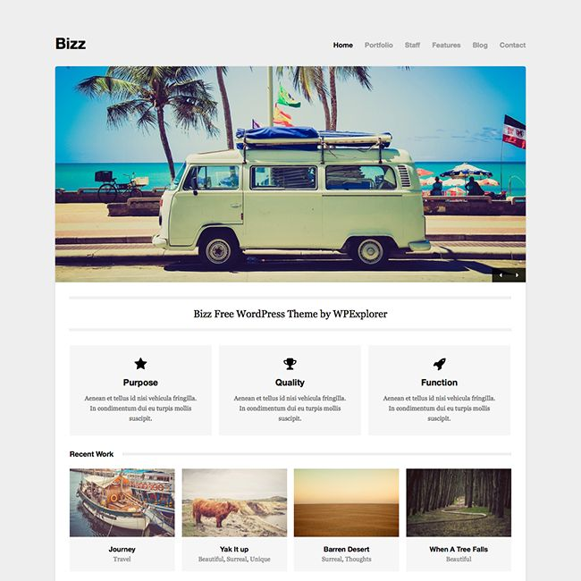 15 Best Free WordPress Themes for 2017 - WPExplorer