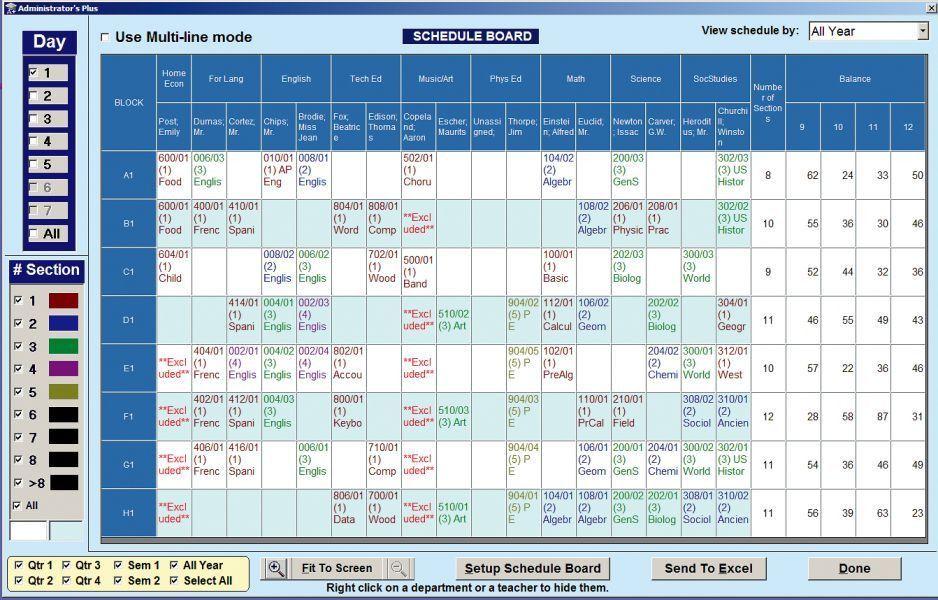 Scheduling Software for Schools - Master Schedule Building ...