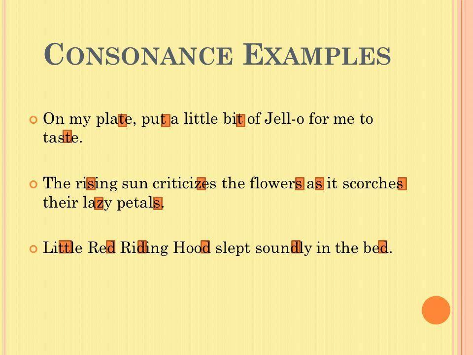 Alliteration, Consonance, & Assonance - ppt video online download