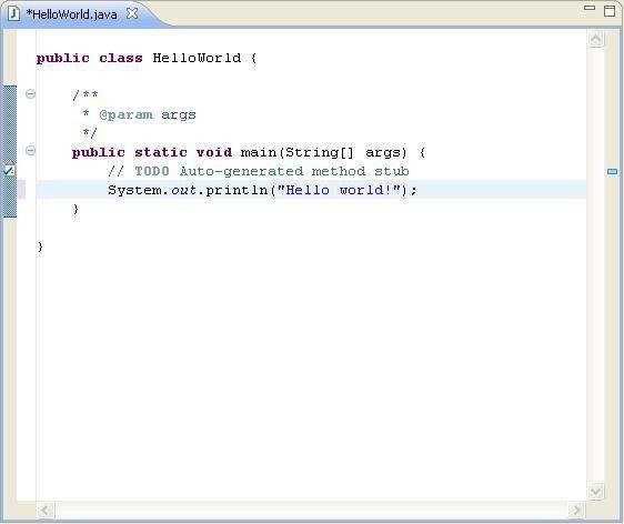 Java Hello World Program For Beginners