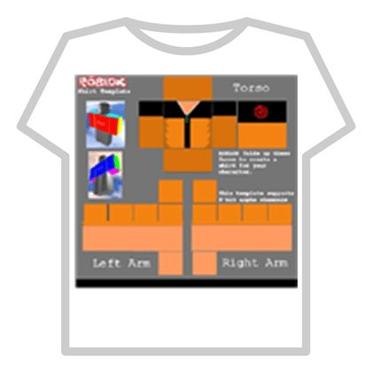 Naruto shirt template - ROBLOX
