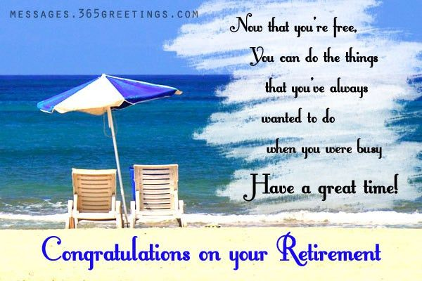 Retirement Card Messages - What to Write in Retirement Card ...