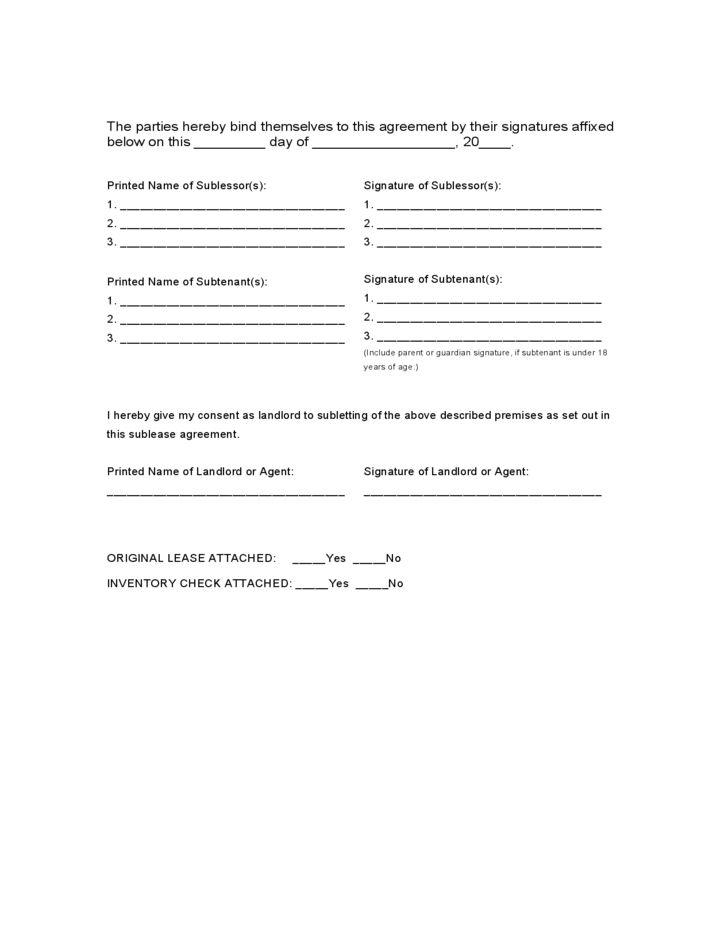 Massachusetts Agreement to Sublease/Sublet Form Free Download