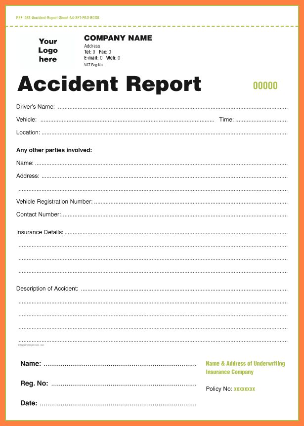 sample incident report format - thebridgesummit.co