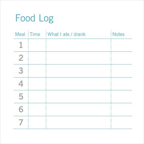 Daily Log Template Word