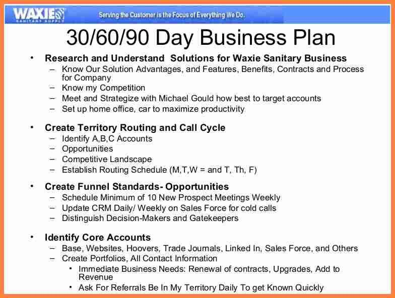 9+ 90 day sales plan template | Invoice Example 2017