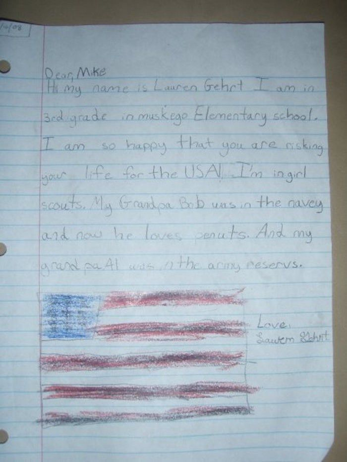 Soldiers Reveal The Funniest Letters They've Received From Kids.