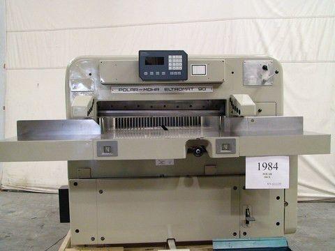 PFE - 1984 - Polar 90CE Cutter