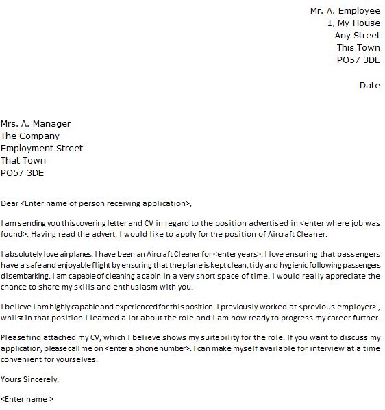 Cleaner Cover Letter. cleaning job cover letter cleaner cover ...