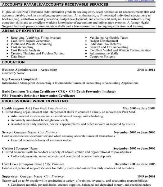 Astonishing Accounts Payable Resume Keywords Stylish - Resume CV ...
