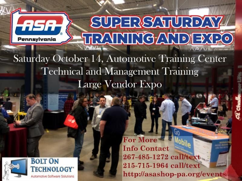 Instructor Registration ASA-PA SUPER SATURDAY TRAINING EXPO-