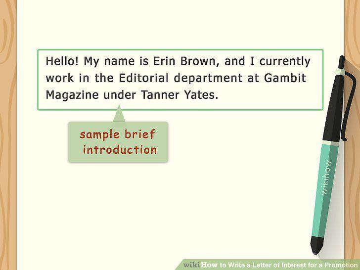 Letter Of Interest Sample. Amazing Example Of Letter Of Interest ...