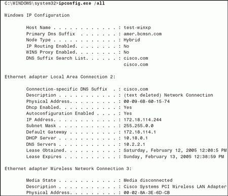 Verify the Address Resolution Protocol table