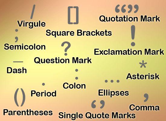 Punctuation - Proper Punctuation & Examples | English@TutorVista.com
