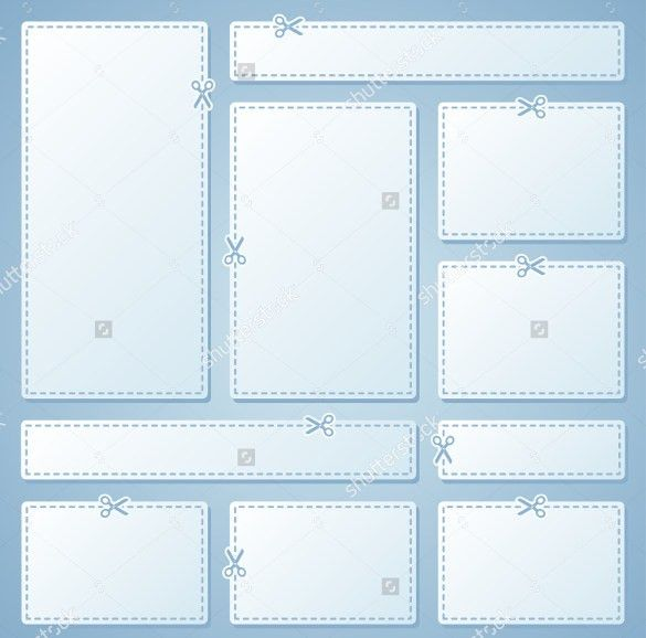 blank coupon template free