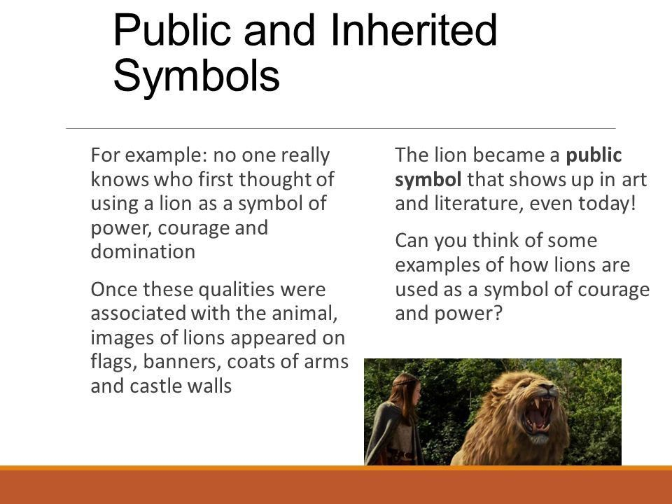 Symbolism. What Symbols Stand For A symbol is often an ordinary ...