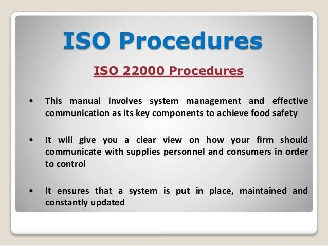 Why Does Require Different Types of ISO Documentation Template