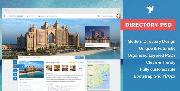 DirectoryEngine - Place Directory PSD Template by enginewpthemes ...