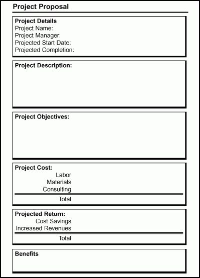 Perfect Developing An Effective IT Project Proposal   TechRepublic