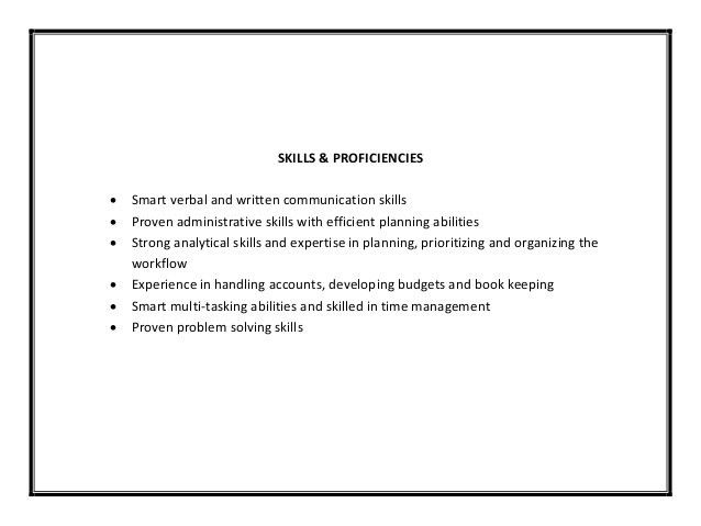 Communication Skills Resume Example. Skill Based Resume Examples ...