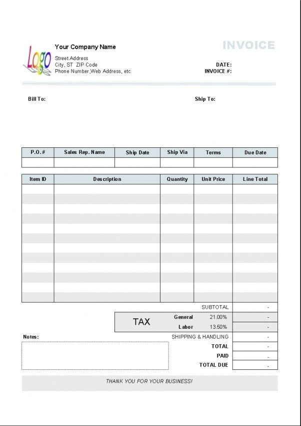 Download Australia Tax Invoice Template | rabitah.net