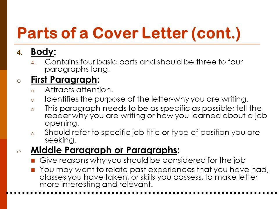 How Many Words Should A Cover Letter Be - CV Resume Ideas