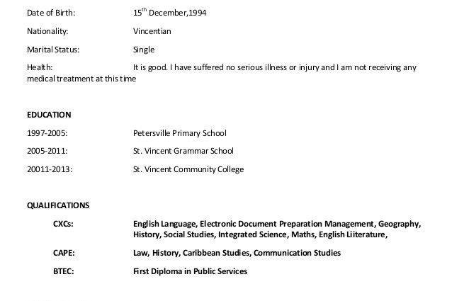 Sample Curriculum Vitae academic curriculum vitae examples katie ...