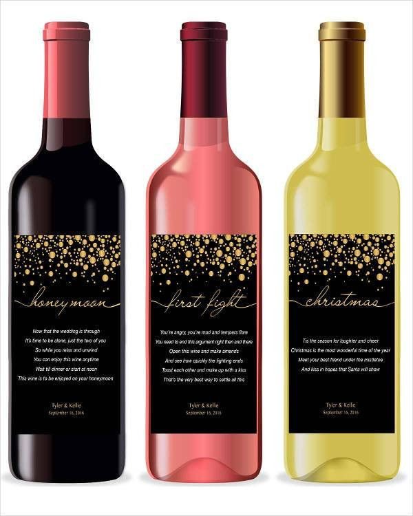 Wine Label - 6+ Free PSD, Vector AI, EPS Format Download | Free ...