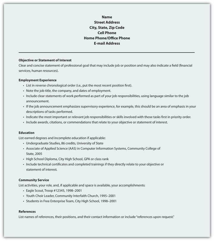 9.5 Résumé | Business Communication for Success