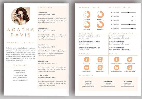 Awesome Resume Examples. Marvelous Unique Resume Templates 92 In ...