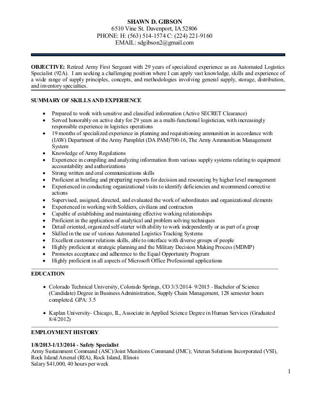 logistics management resume logistics manager resume tomorrowworld ...