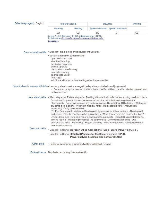 nasr cv clinical pharmacist