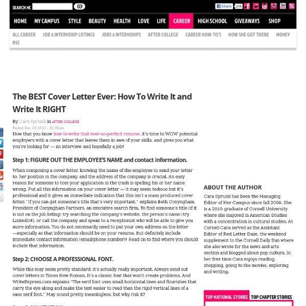 best cover letters ever written best of 2013 the worst cover