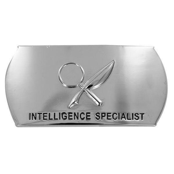 USN Enlisted Intelligence Specialist IS Specialty Belt Buckle ...