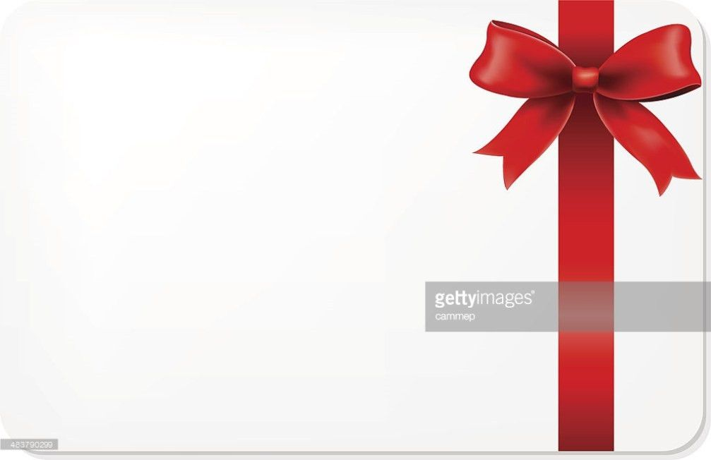 Red Bow And Blank Gift Tag Vector Art | Thinkstock
