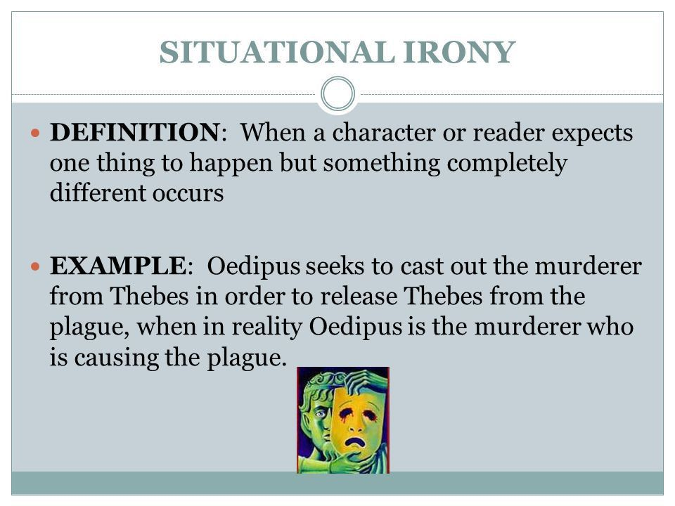THREE TYPES OF IRONY LITERARY DEVICES - ppt video online download