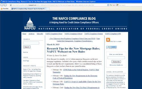 NAFCU Compliance Blog: Fair Lending