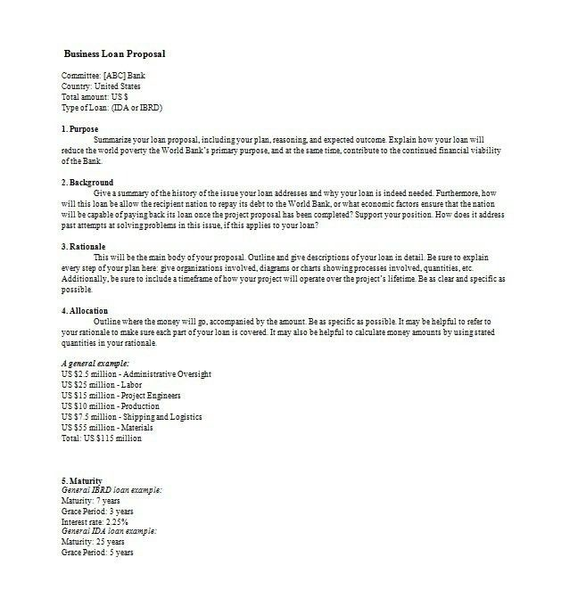 how to write a business proposal lettersample business proposal ...
