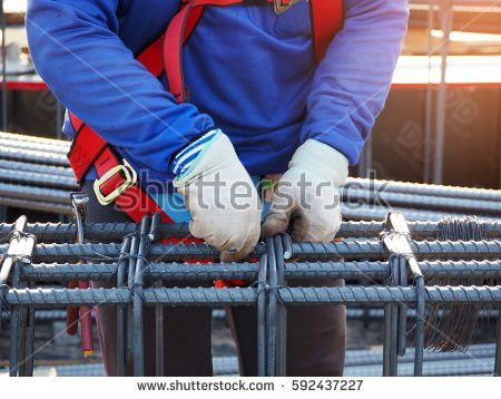 Bar Bender Fixing Reinforcement Steel Stock Images, Royalty-Free ...