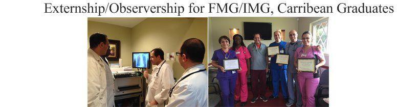 Externship/Observership for FMG/IMG, Carribean Graduates - Home