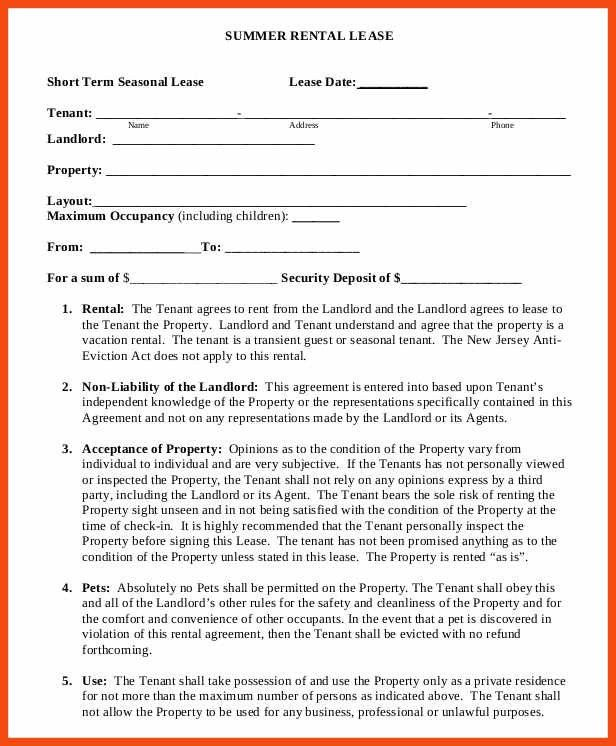 Rental Agreement Letter Template. Pent House Rental Agreement Free ...