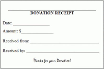 9+ Tax Donation Receipt Templates - Excel Templates