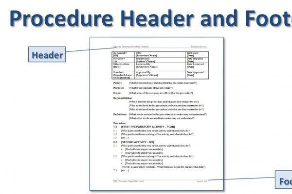 Procedure Manual Template Word - cv01.billybullock.us