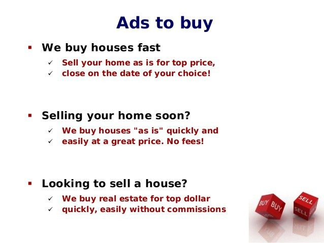 How to write great real estate ads