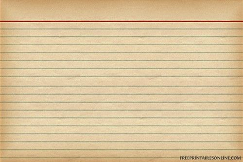 vintage recipe card Auf freeprintablesonline.com http://www ...