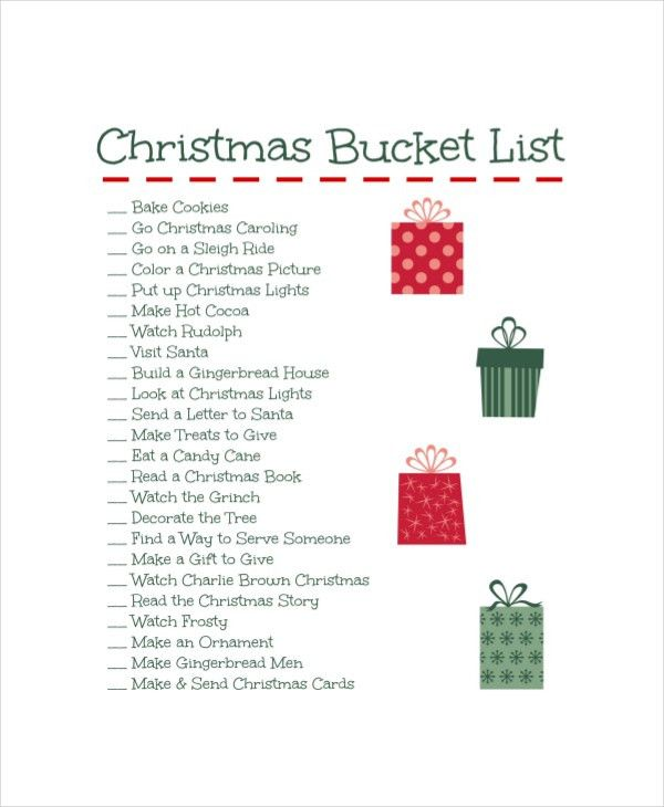 Bucket List Template - 10+ Free Word, PDF Documents Download ...