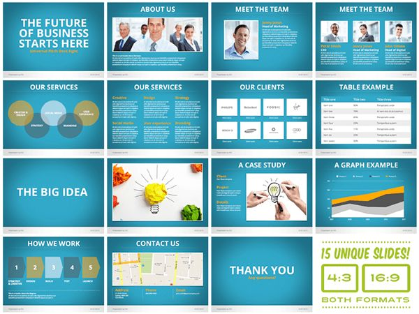 Free Pitch Deck Template | Template Design