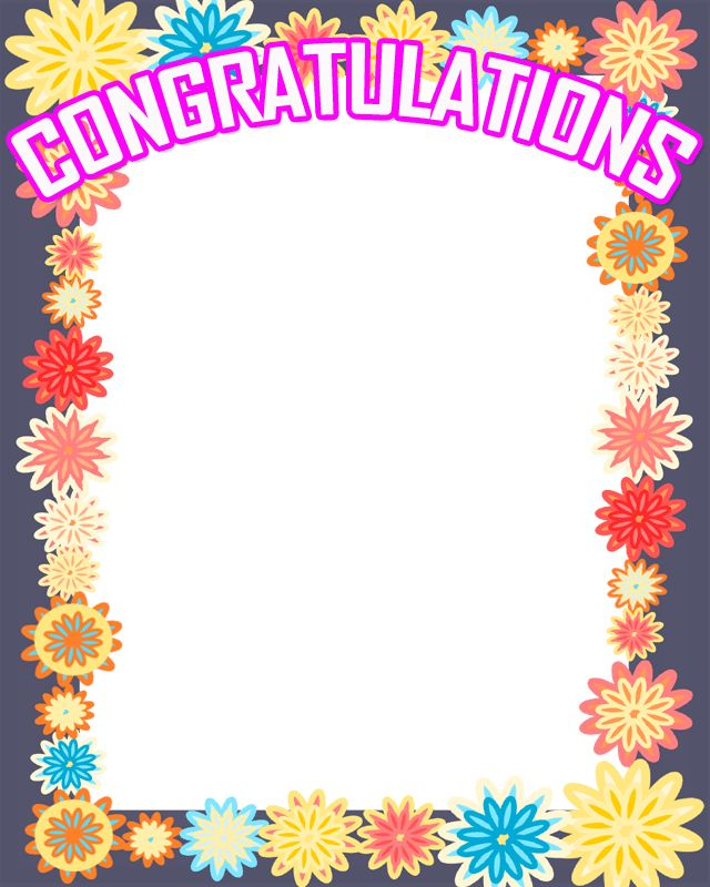 Congratulations Photo Frame - Android Apps on Google Play