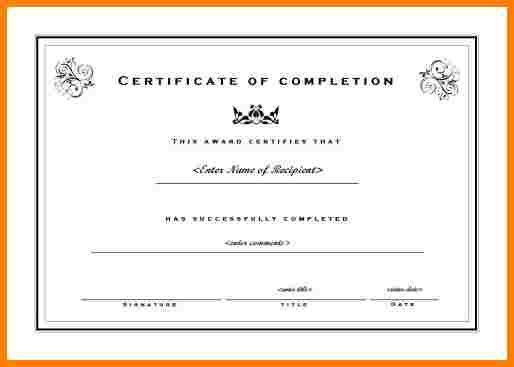 8+ free printable achievement certificate templates   sample of ...