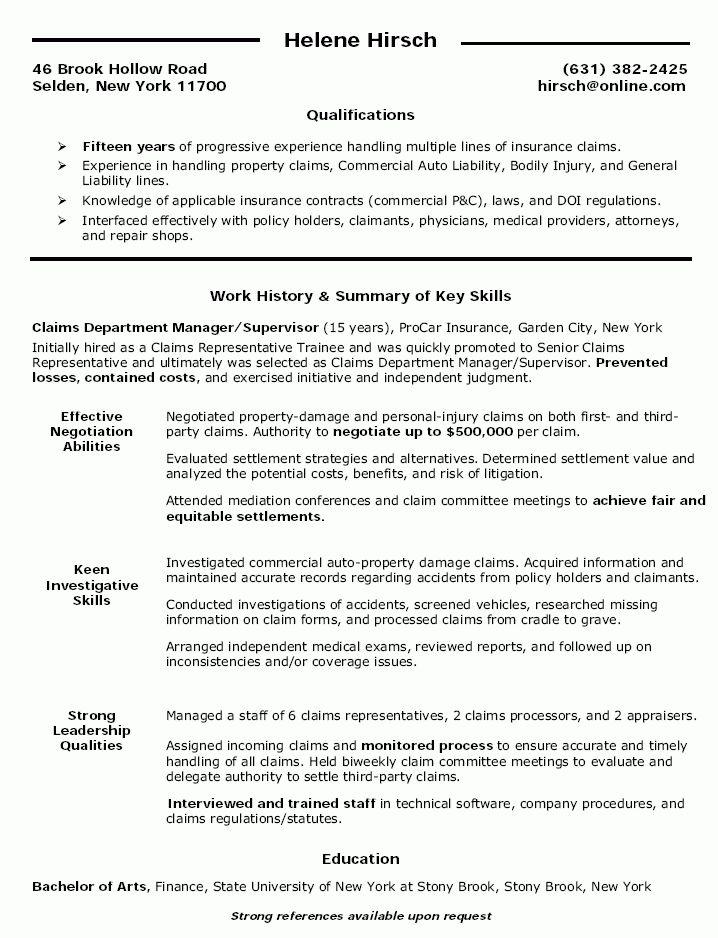 10 Supervisor Resume Template Free - Writing Resume Sample ...